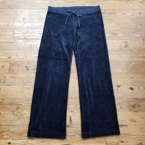 Juicy Couture Blue Velour Sweatpants